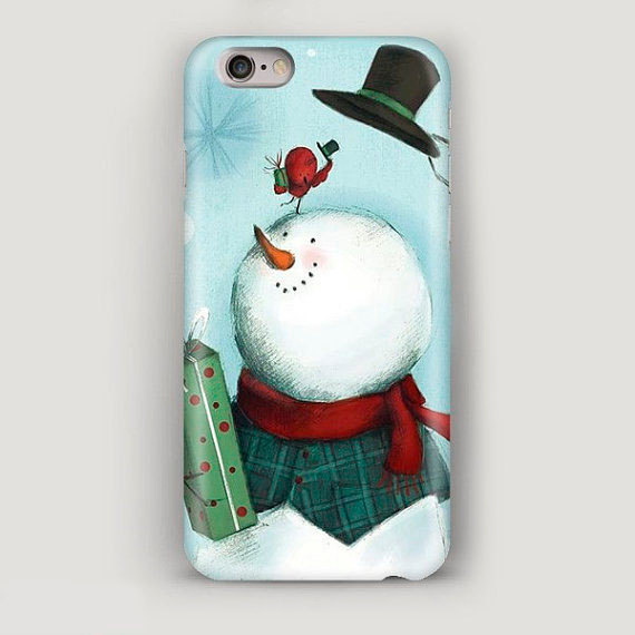 cute-and-amazing-snowman-phone-covers-2016-16
